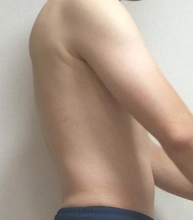 筋トレ、筋肉、裸、インナーマッスル