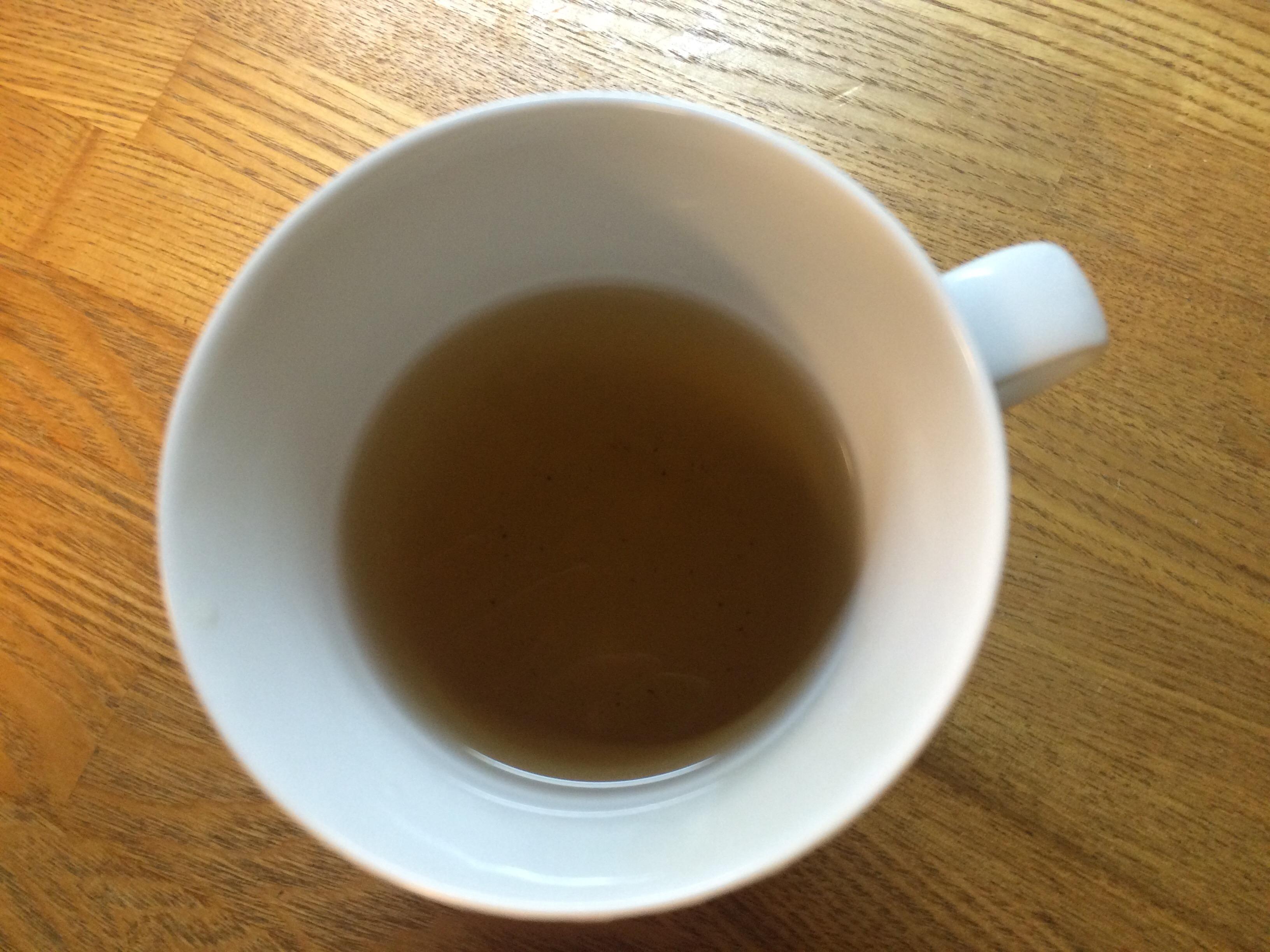 お茶、よもぎ、三年