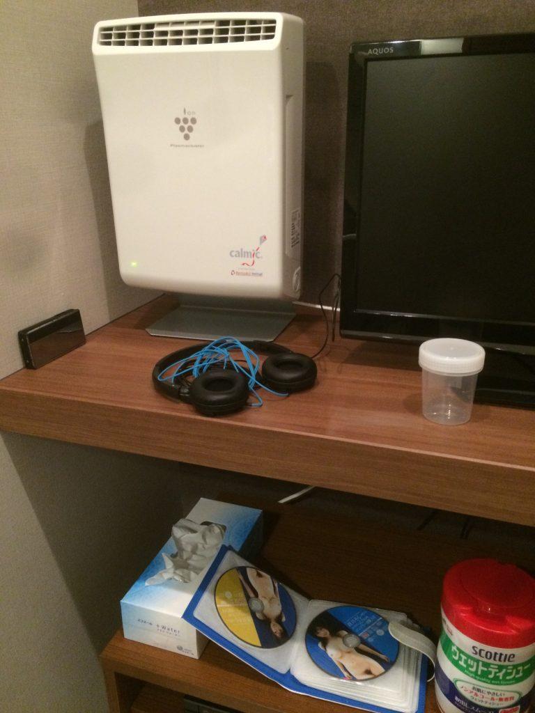 個室、はなおか、精液検査