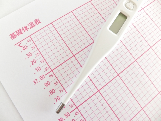 妊活、基礎体温、体温