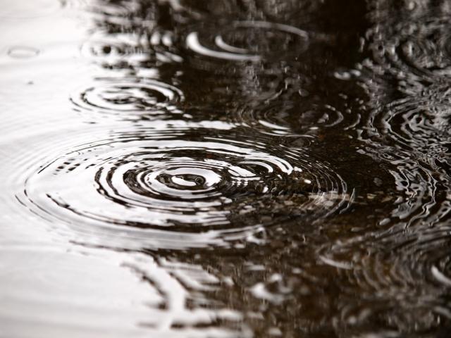 雨、落胆、落ち込み