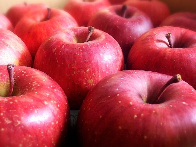 りんご、赤、リセット