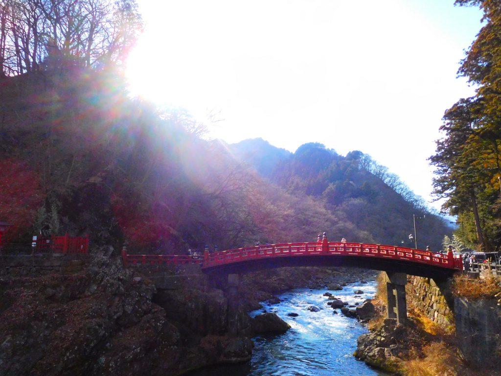 神橋、日光東照宮