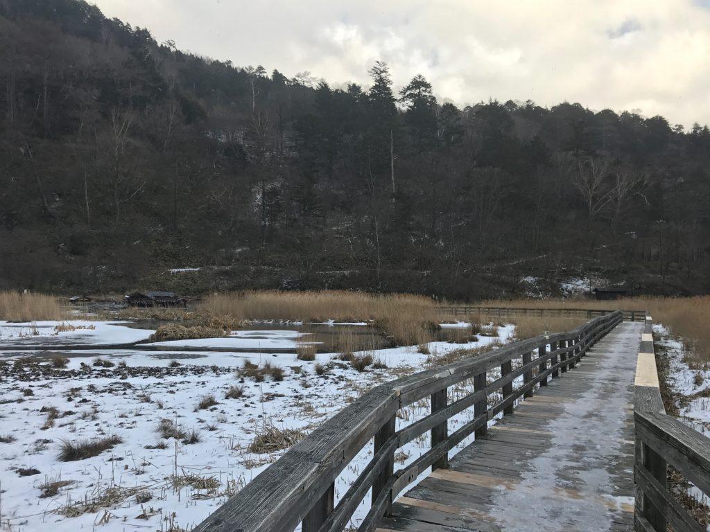 奥日光、湯ノ平湿原、源泉
