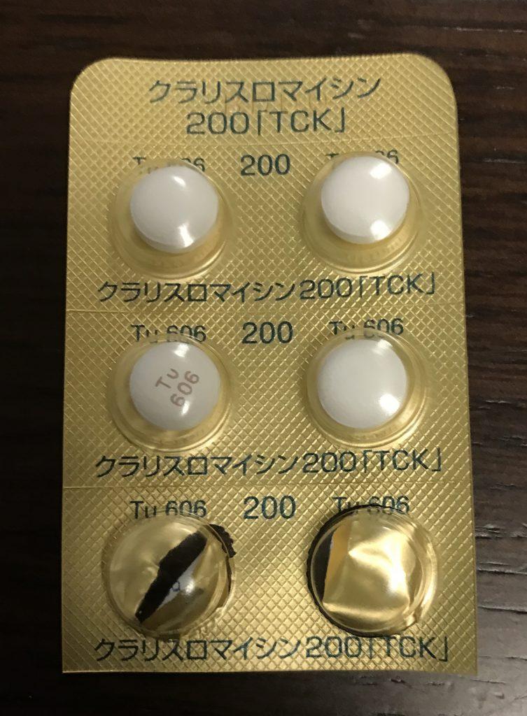 クラリスロマイシン、薬、錠剤