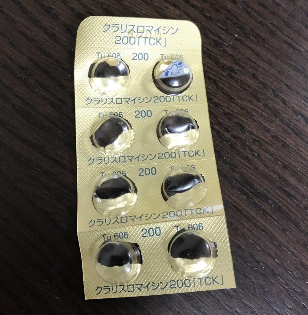 クラリスロマイシン、薬