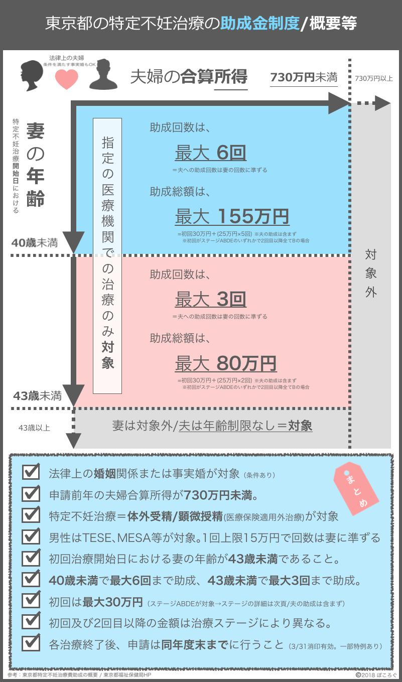 東京都特定不妊治療助成制度