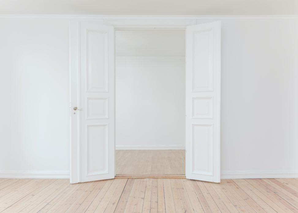 ミニマリスト、部屋、シンプル、白