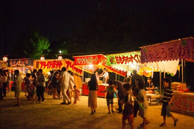 祭り、夏祭り、屋台、フェスティバル