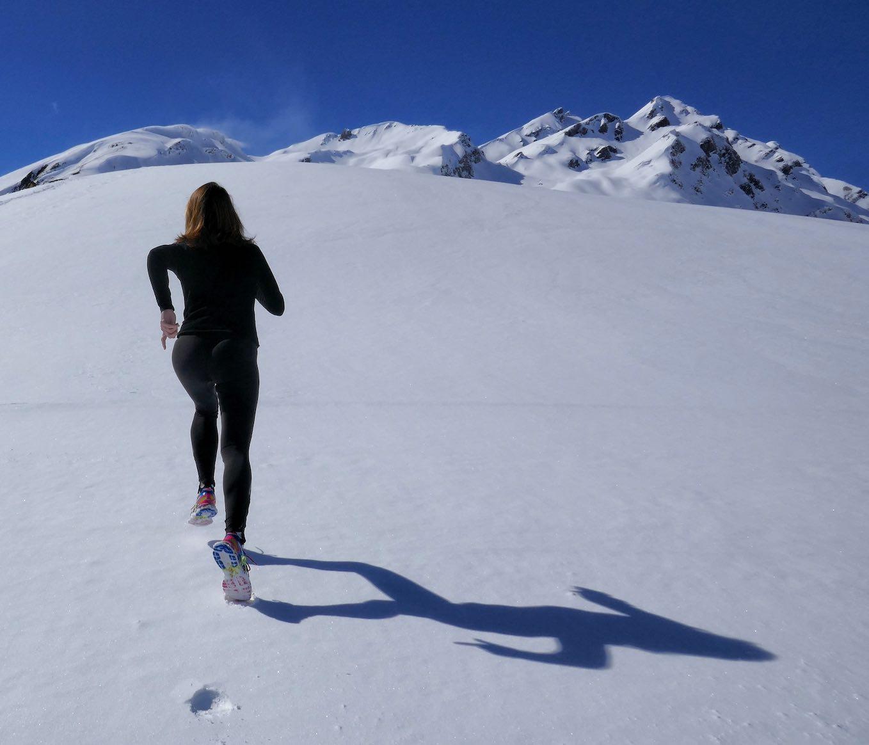 雪山トレイル
